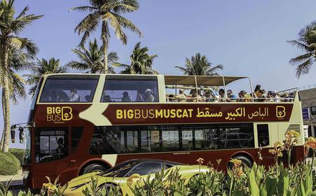 Dubai und Maskat: Hop-On/Hop-Off-Tour mit Bus und Boot