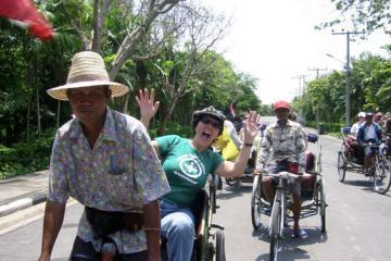 Rickshaw and Hike the Colors of Bangkok
