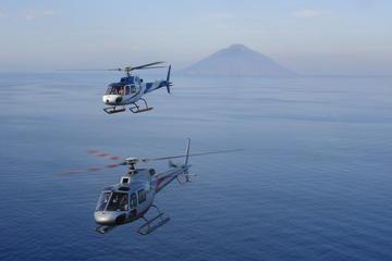 Private Helicopter Flight Over Etna and Taormina
