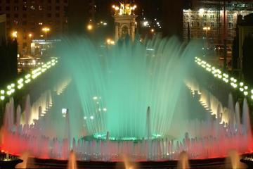 Magic Fountain Show and Gay Night Tour in Barcelona
