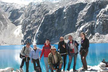 69 Lake in Cordillera Blanca from Huaraz