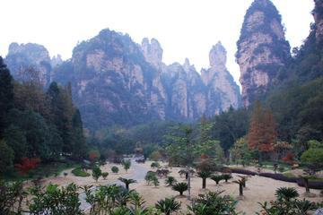 Private Day Tour to Zhangjiajie Fairy Stream by Cycling