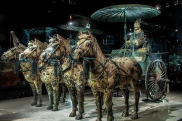 Xi'an Day Tour: Terracotta Warriors, Qin Shi Huang Mausoleum and Banpo Museum