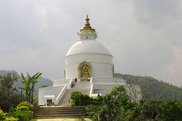 Private Hiking Tour to Peace Pagoda Including Fewa Lake Boating