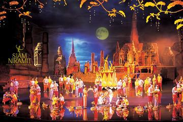 Siam Niramit Show in Phuket with Hotel Transfer and Dinner
