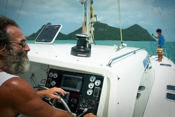 2-Day Overnight Private Skippered and Crewed Catamaran Charter