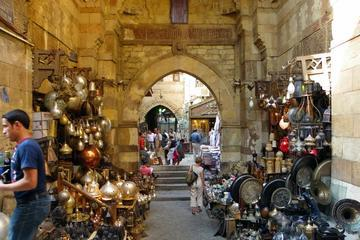 Egyptian Highlights: Museum Alabaster Mosque Hanging Church and Khan Bazaar from Cairo