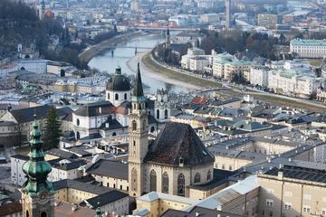 Private 4-hours Salzburg Walking Tour Including Salzburg Fortress