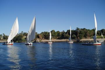 Private Tour: Valley of the Kings and Hatshepsut Temple Including 2-Hour Felucca Cruise Sailing on the Nile