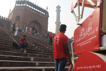 Private Rickshaw Tour of Old Delhi