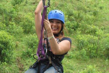 Zipline, Tarzan Swing and Blue River Adventure at Rincon de la Vieja