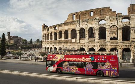Super Saver: Rome Hop-On, Hop-Off Bus & Skip-the-line Vatican Museums Ticket