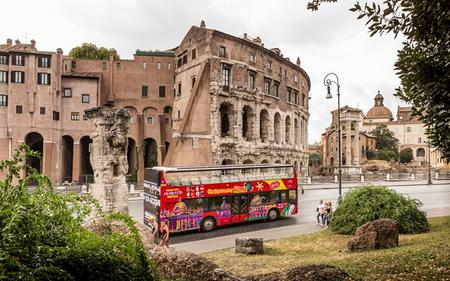 3-in-1 Saver Ticket: Rome Hop-On, Hop-Off, Vatican Museums & Colosseum