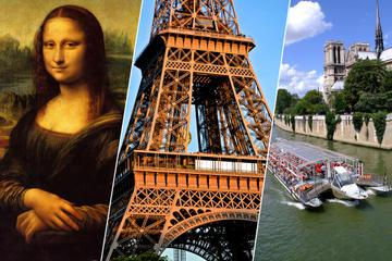 Skip the Line: Eiffel Tower Summit, Louvre Museum and Cruise