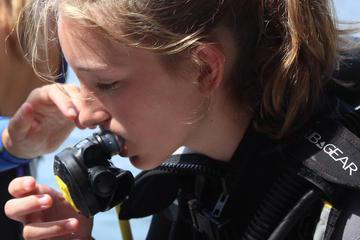 Taormina Children's Diving Experience: Bubble Maker Diving Course at Isola Bella
