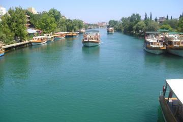 Manavgat River Cruise with Grand Bazaar and Lunch from Side