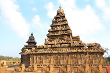 Private Tour: Mahabalipuram and Kanchipuram Caves and Temples Day Tour from Chennai
