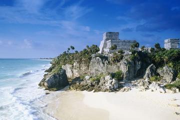 Private Coba, Tulum and Temazcal Combo Tour from Playa de Carmen