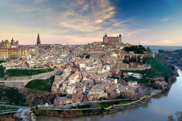 Luxury Van Transfer Madrid Adolfo Suarez Airport to Toledo City Center