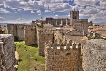 Luxury Van transfer Avila City to Airport Madrid Adolfo Suarez