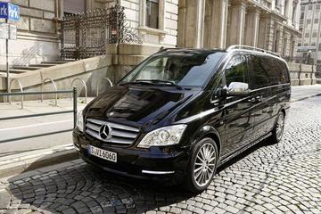 Luxembourg-Findel International Airport, Private Departure Transfer in Luxury Van