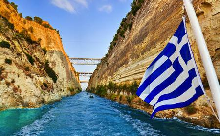 Athens: Private Day Trip to Corinth with Canal Cruise