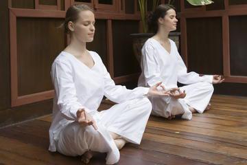 Evening Meditation Class at Wat Mahathat Temple in Bangkok