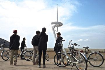 Barcelona Electric Bike Tour Throughout the Monjuic Mountain