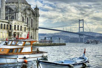 Full-Day Tour of 2 Continents with Bosphorus Cruise Included and Beylerbeyi Palace