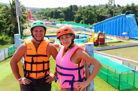 Splashdown Gameshow Adventure Park in Pattaya