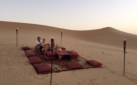 From Abu Dhabi: Romantic Desert Dune Dinner