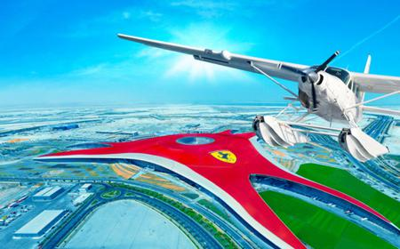 Seaplane Flight and Ferrari World Ticket