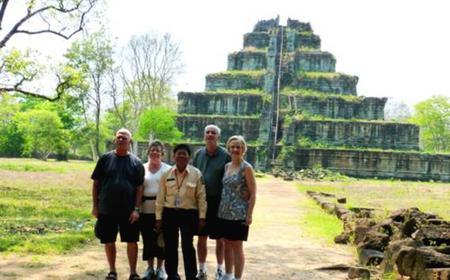 Full-Day Koh Ker & Beng Mealea Temple Tour