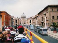 Rome 48-Hour Hop On Hop Off Bus Tour + Skip the Line Vatican Museums and Sistine Chapel