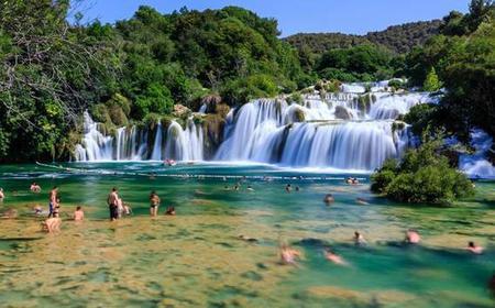 From Split: Full-Day Krka Waterfalls w/ UNESCO Sibenik