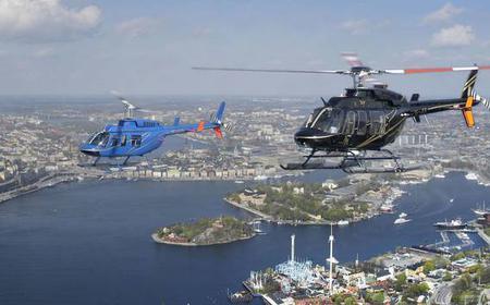 Stockholm: Stockholm Archipelago Helicopter Flight