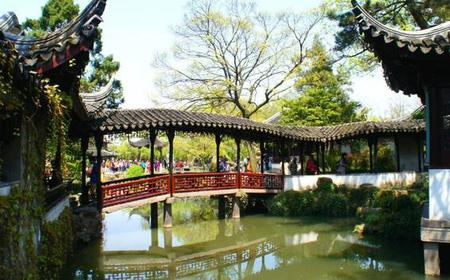 Suzhou: Full-Day Private Garden & Water Town Tour