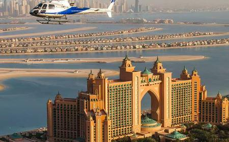 Dubai: Helicopter Flight Over The Palm Jumeirah