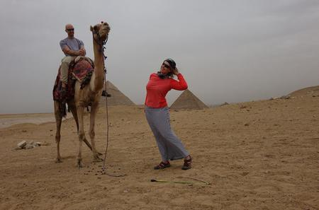 Sunset or Sunrise Tour: Pyramids of Giza by Horse or Camel