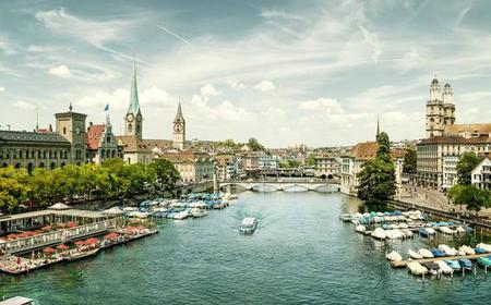 Zürich City Tour with Cruise & Chocolate