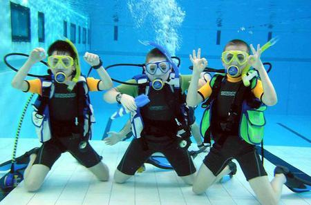 Children's PADI Diving Experience in Gran Canaria