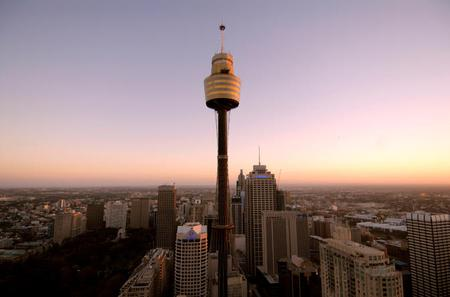 Sydney Shore Excursion: Sydney Tower Restaurant Buffet