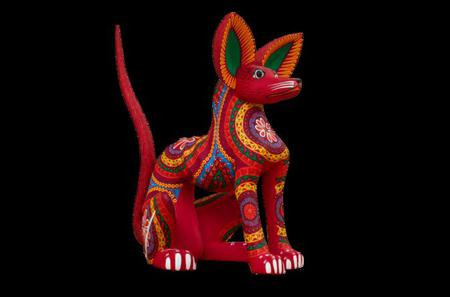 Alebrijes Carving and Paint Workshop at San Martin Tilcajete from Oaxaca
