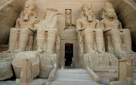 Abu Simbel Temple Private Tour from Aswan by Minibus