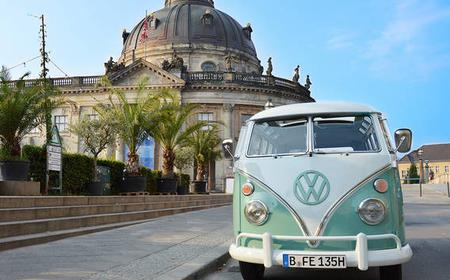 Berlin: 2 hours sightseeing tour in the VW Bulli