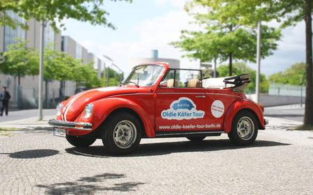 Berlin: 4-Hour Discovery Tour in VW Beetle Cabriolet