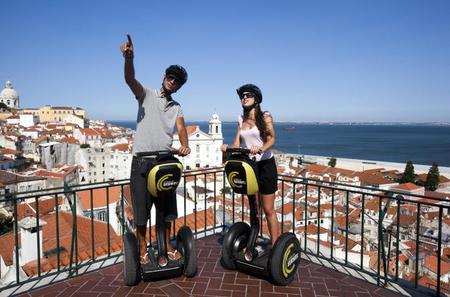 Small-Group Medieval Lisbon Tour by Segway