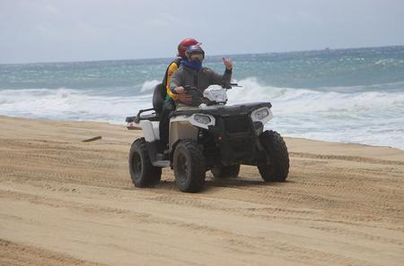 Migriño Beach Single ATV Tour in Los Cabos