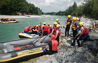 3-Hour Rafting Tour from Lenggries to Bad Tölz
