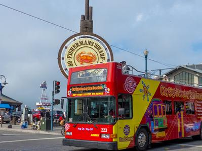 City Sightseeing San Francisco Hop On Hop Off Tour - Downtown Loop